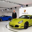 Porsche's New Chairman Makes First Appearance at U.S. Auto Show