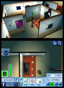 The Sims 3 for Nintendo 3DS