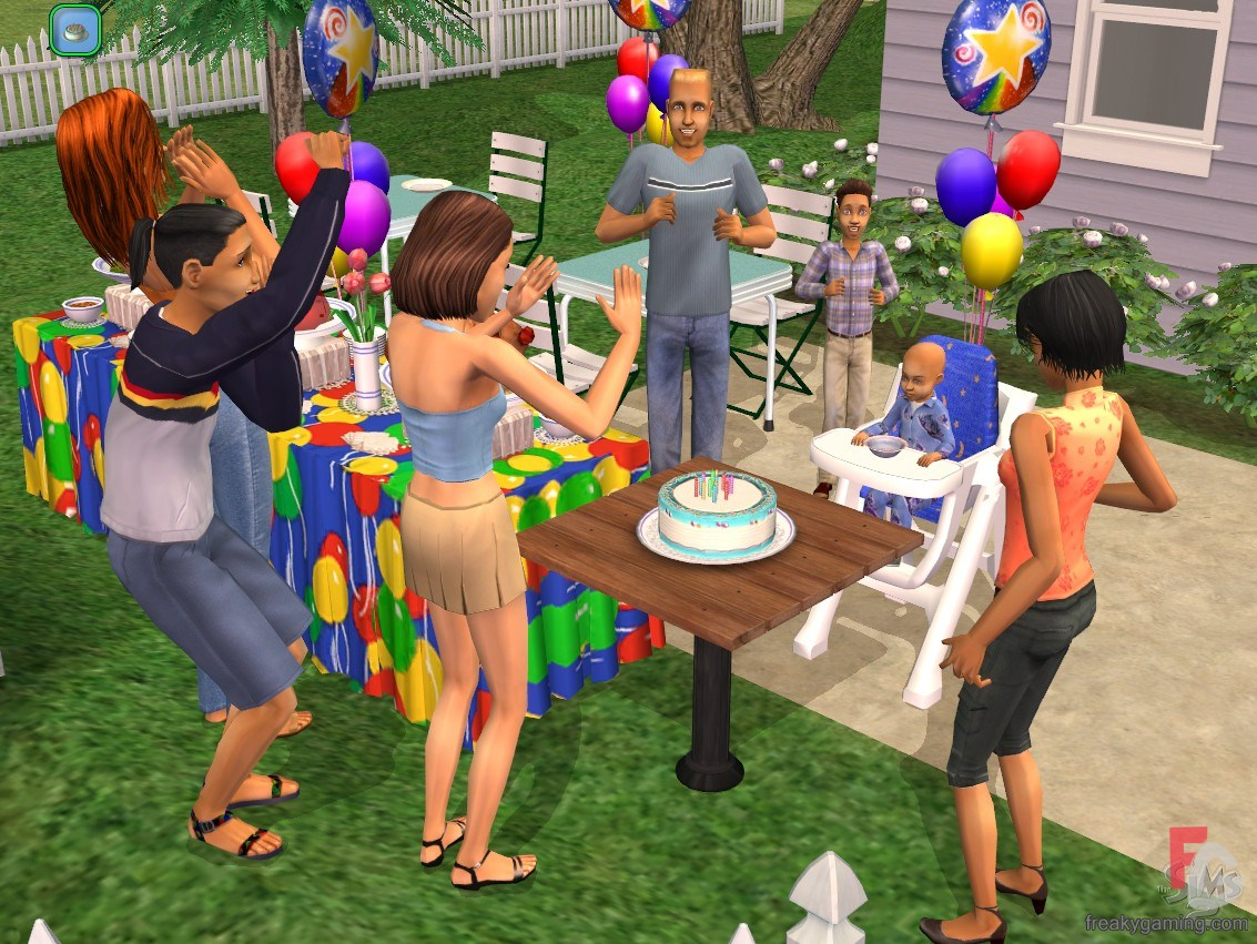 Sims 3 Happy Birthday Party - Bing images